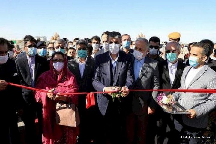 افتتاح دومین گذرگاه رسمی ایران و پاکستان با حضور وزیر راه و شهرسازی