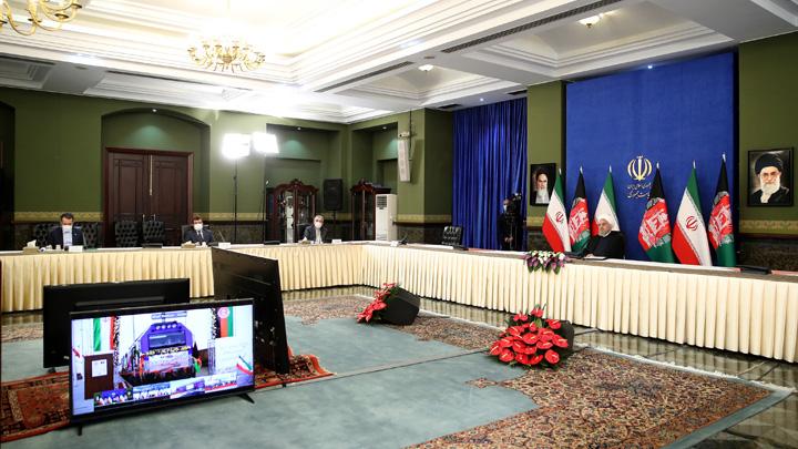 بهره برداری رسمی از پروژه راه آهن خواف-افغانستان